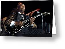B.b. King Greeting Card