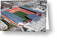 Bbva Compass Stadium In Houston Greeting Card