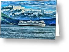 B.c. Ferries Hdr Greeting Card