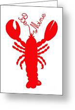Be Mine Lobster With Feelers 20150207 Greeting Card