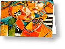 Be My Love Greeting Card by Jennifer Croom