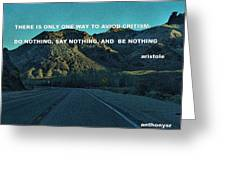 Be Something Greeting Card