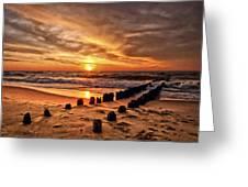 Beach 5 Greeting Card
