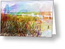 Beach Watercolor 1 Greeting Card