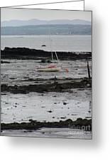 Beach At Culross Scotland Greeting Card