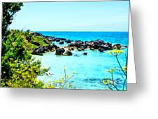 Beach At St. George Bermuda Greeting Card