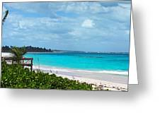 Beach At Tippy's Greeting Card