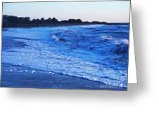 Beach Back Wash Greeting Card