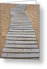 Beach Boardwalk Greeting Card