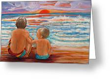Beach Buddies II Greeting Card