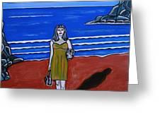 Beach Chic Greeting Card