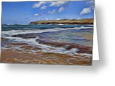 Beach Colors Greeting Card