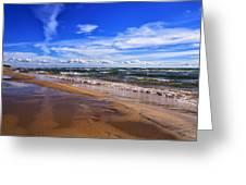 Beach Combing Greeting Card