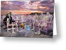 Beach Committee Greeting Card