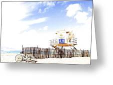Beach Cruiser Greeting Card