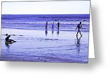 Beach Day Afternoon Greeting Card