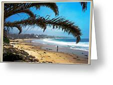 Beach Dreaming Greeting Card