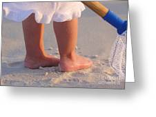 Beach Feet  Greeting Card