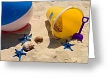 Beach Fun Greeting Card