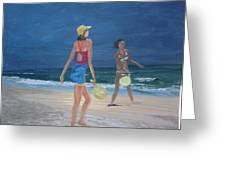 Beach Games Greeting Card