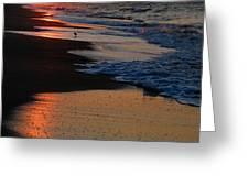 Beach Glow Greeting Card