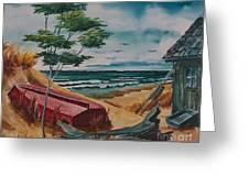 Beach Hideaway Greeting Card