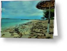 Beach Holiday Greeting Card