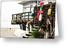 Beach House 2 Greeting Card