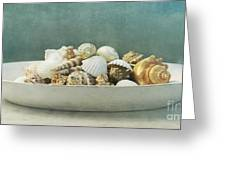 Beach In A Bowl Greeting Card