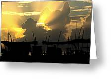 Beach India Greeting Card
