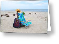 Beach Music Greeting Card