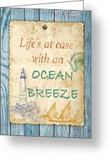 Beach Notes-c Greeting Card