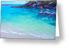 Beach Painting - A Day To Remember Greeting Card
