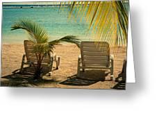 Beach Paradize Greeting Card