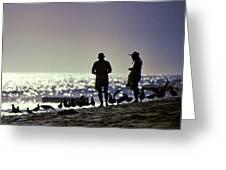 Beach Partners Greeting Card