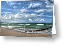 Beach Prerow Greeting Card