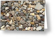 Beach Rocks Greeting Card