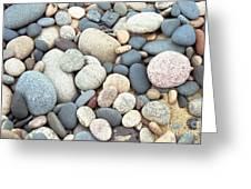 Beach Stones Greeting Card