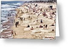 Beach Stories Greeting Card