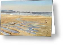 Beach Strollers  Greeting Card