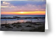 Beach Sunset Greeting Card
