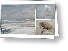 Beach Triptych 1 Greeting Card