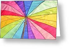 Beach Umbrella 2 Greeting Card