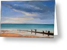 Beach View 1 Greeting Card
