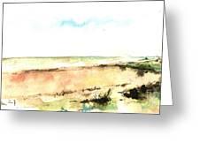 Beach View Greeting Card