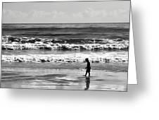 Beach Walker 30 Greeting Card