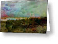 Beach Watercolor 3 Greeting Card