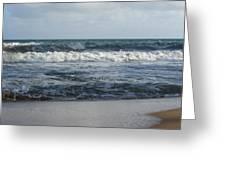 Beach Waves 2 Greeting Card