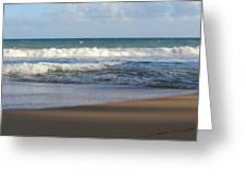 Beach Waves 3 Greeting Card