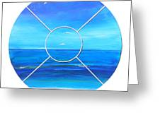 Beach Window Greeting Card